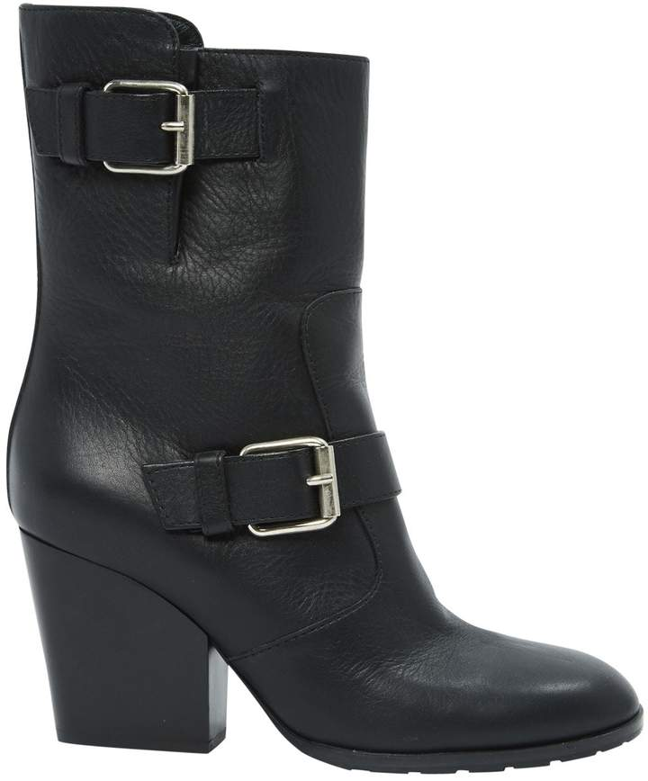 Giuseppe Zanotti Leather biker boots
