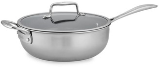 Zwilling J.A. Henckels Zwilling Clad CFX 4.5-Quart Stainless Steel Ceramic Nonstick Perfect Pan