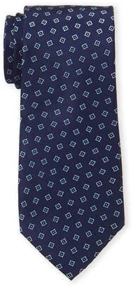 MICHAEL Michael Kors Silk Square Pattern Tie