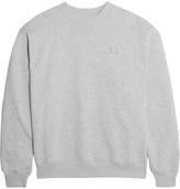 Acne Studios Yana Appliquéd Cotton-jersey Sweatshirt - Gray