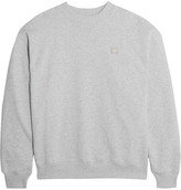 Acne Studios Yana Appliquéd Cotton-jersey Sweatshirt