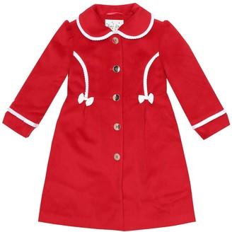 Rachel Riley Bow-trimmed coat