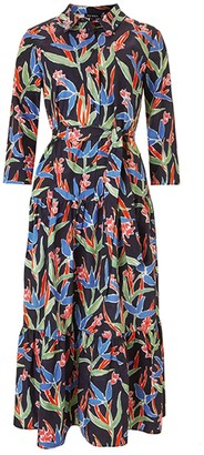 Baukjen Manet Dress - Navy Painted Floral