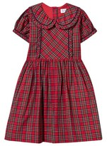 Rachel Riley Red Tartan Frill Dress