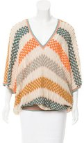 Missoni Patterned Open Knit Swim Cover-Up