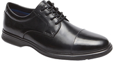 Rockport Dressports 2 Toe Cap Shoes, Black