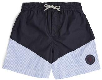 BRUNELLO CUCINELLI KIDS Striped Swim Shorts (4-7 Years)