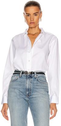 Totême Capri Shirt in White   FWRD