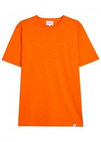 Norse Projects James Orange Slubbed Jersey T-shirt