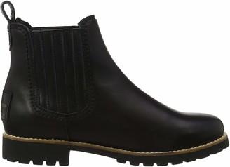 Panama Jack Women's Brigitte Igloo Travelling Chelsea Boots Black (Negro B2) 8 UK