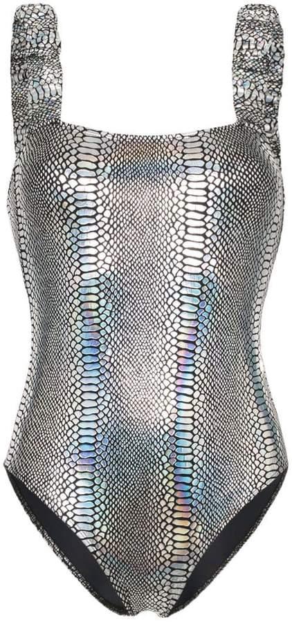 790cc0ef56 Snakeskin Swimsuit - ShopStyle