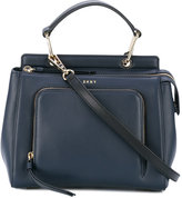 DKNY mini zip pocket tote - women - Leather - One Size