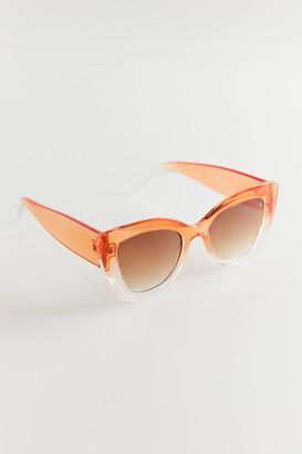 Maude Chunky Cat-Eye Sunglasses