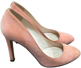 Sarah Jessica Parker Pink Suede Heels