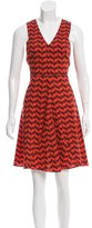 Derek Lam 10 Crosby Geometric Print A-Line Dress w/ Tags