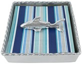 Mariposa Shark Twist Napkin Box