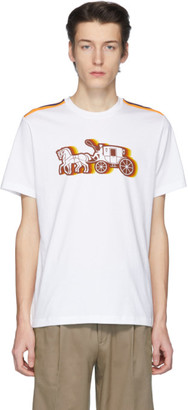 Coach 1941 White Horse and Carriage T-Shirt