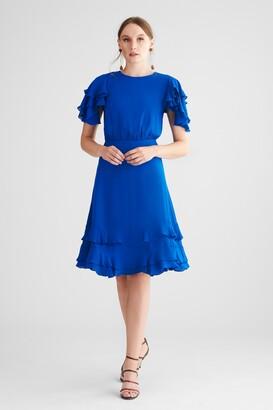 Sachin + Babi Gayle Dress - Imperial Blue