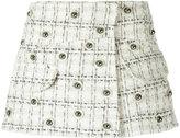 Andrea Bogosian - tweed skorts - women - Acrylic/Polyester/Wool - G
