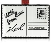 Karl Lagerfeld Postcard Box Clutch