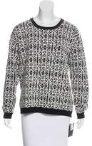 Dagmar Wool-Blend Patterned Sweater w/ Tags