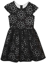 Rare Editions Textured Black Dress