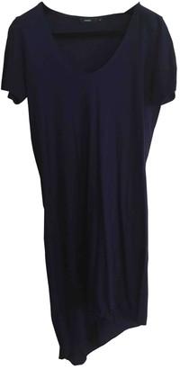 Bassike Blue Cotton Dress for Women