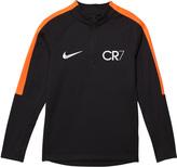 Nike Black CR7 Squad Drill Top