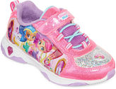 Nickelodeon Shimmer and Shine Girls Athletic Light-Up Sneakers - Toddler