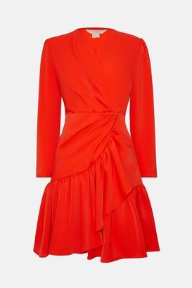 Coast Ruffle Hem Skirt Dress