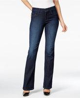 NYDJ Marilyn Burbank Wash Straight-Leg Jeans