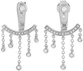 SHAY Diamond Dangle Ear Jacket Earring - White Gold