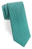 Salvatore Ferragamo Golf Clubs Silk Tie