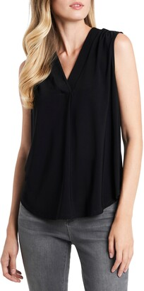 Vince Camuto V-Neck Sleeveless Blouse