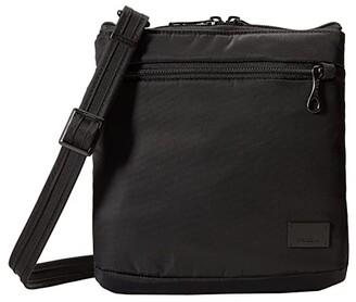 Pacsafe Citysafe CS50 Anti-Theft Crossbody Purse (Black) Cross Body Handbags
