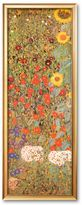 "Art.com Country Garden with Sunflowers (detail)"" Framed Art Print by Gustav Klimt"