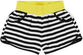 Deux Par Deux Striped Shorts