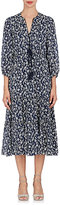 Ulla Johnson Women's Clementine Cotton-Silk Peasant Midi-Dress