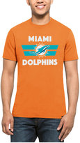 '47 Men's Miami Dolphins Two Bar Splitter T-Shirt