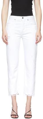 Frame White Heritage Original Jeans