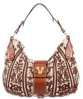 Valentino Embellished Hobo Bag