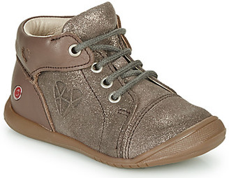 GBB ORENA girls's Shoes (High-top Trainers) in Beige
