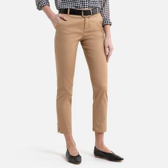 Benetton Cotton Cigarette Trousers