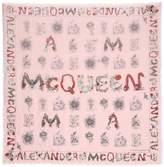 Alexander Mcqueen Foulard Imprimé