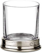 Match Pewter Crystal Neat Shot Glass