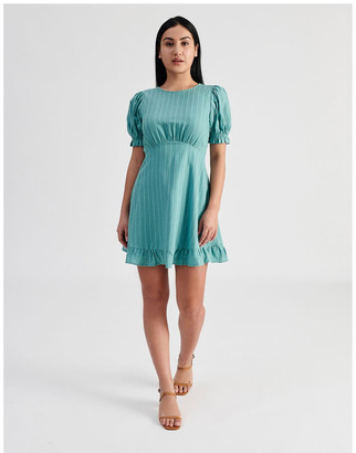 Miss Shop Empire Ruffle Dress