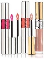 Saint Laurent 'Volupte' Lip Gloss Trio - No Color