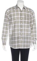 Lorenzini Plaid Woven Shirt w/ Tags