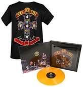 Bravado Guns N' Roses Mens Limited Ed. Appetite for Destruction Vinyl T-Shirt SET Size M