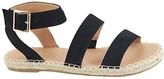 Anna Shoes Women's Sandals BLACK - Black Clover Gladiator Sandal - Women